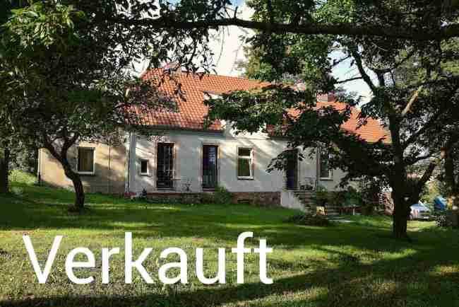 Altes Pfarrhaus mit sehr großem Nutzgarten in Fontanes Oderland