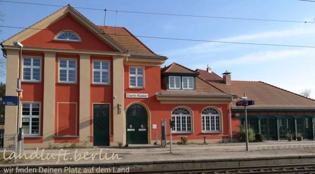 Touristeninformation im Bahnhof Chorin