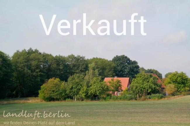 Kleiner Fachwerk-Hof mitten in der Natur der nördlichen Uckermark