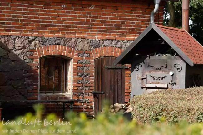 Forsthaus in wunderschöner Naturlage in der Nähe von Berlin zu verkaufen, Backsteinbau