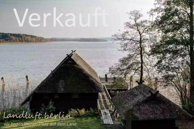Einzigartiges Grundstück am See in der Nähe von Berlin zu verkaufen