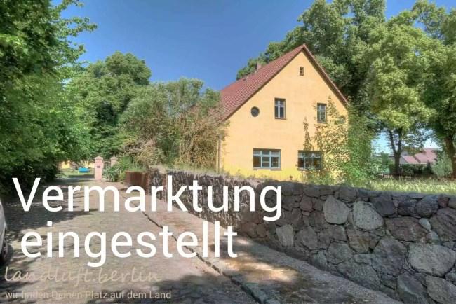 Inspektorenhaus eines der schönsten Schlossensembles der Uckermark