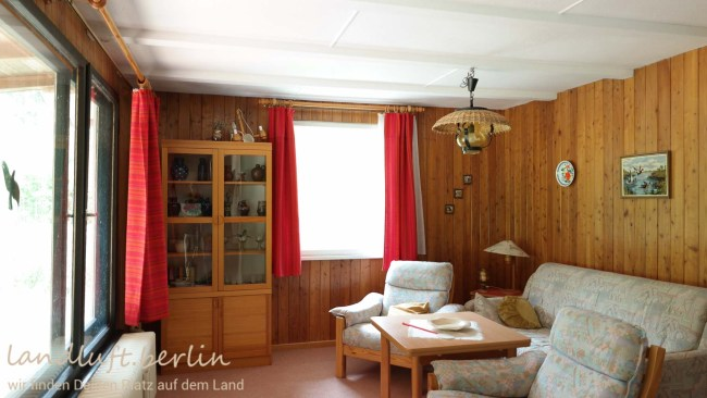 Wohnzimmer, Sommerhaus am See