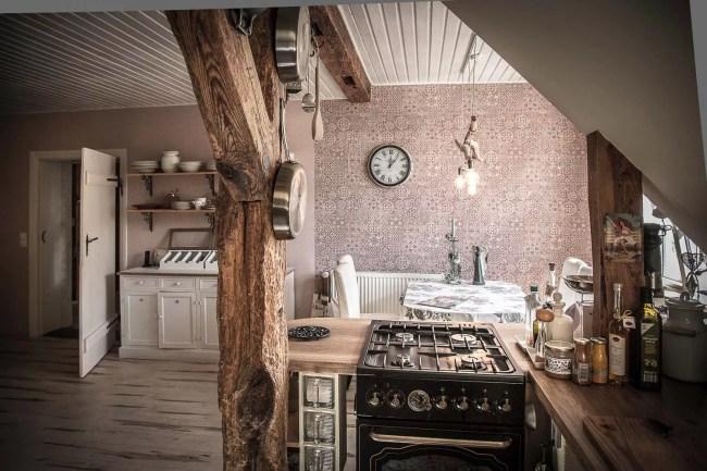 Wohnküche in der Wohnung Eigentümer im OG