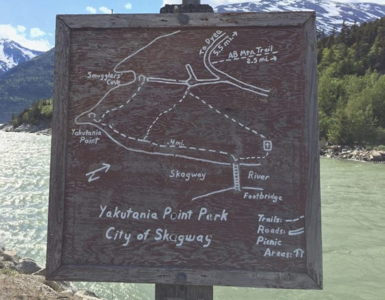 Smuggler's Cove trail map