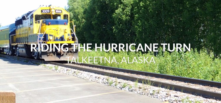Riding Alaska's Hurricane Turn, the Last Flagstop Train (VIDEO)