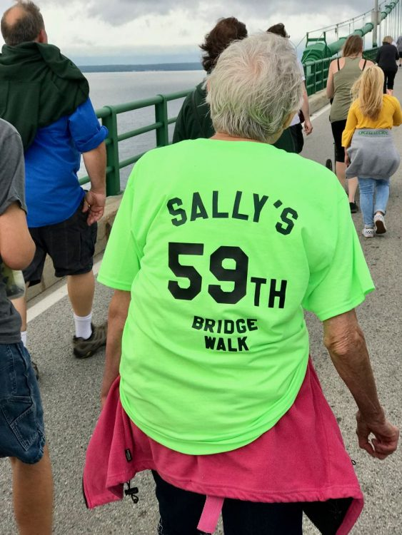 Sally's 59th Bridge Walk