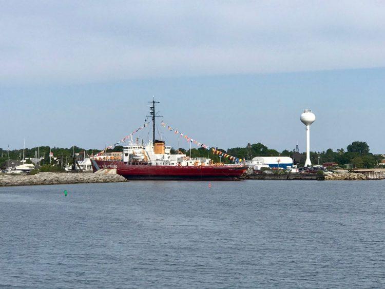 The USCGC Mackinaw, now a museum ship