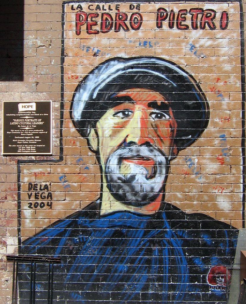 Pedro Pietri Mural, LEH Virtual Tour, MAS Jane's Walk 2021