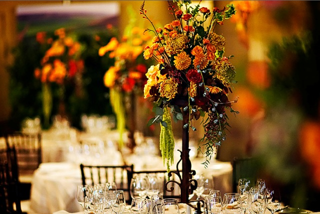 Beautiful Fall Bouquets & Centerpieces