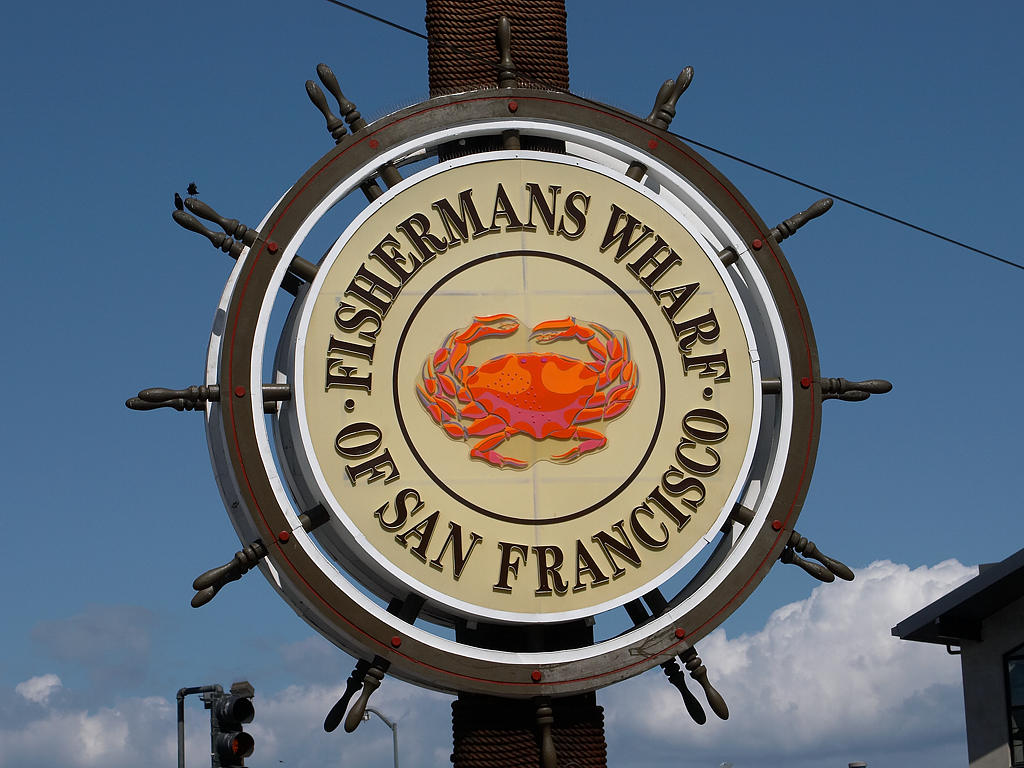 Signs Of The World Fisherman's Wharf Sign