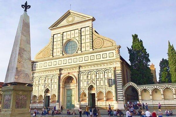 Guia Turistico Florencia LandMarks Santa Maria Novella