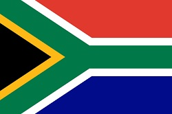 Landnummer Zuid-Afrika
