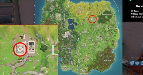 Расположение спрятанных гномов в Fortnite Battle Royale