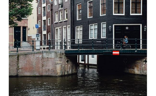 Tiny Streets Bicycles Cobblestones Amsterdam S