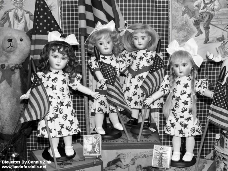 Patriotic Bleuettes