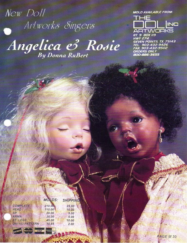 Angelica and Rosie Small Carolers