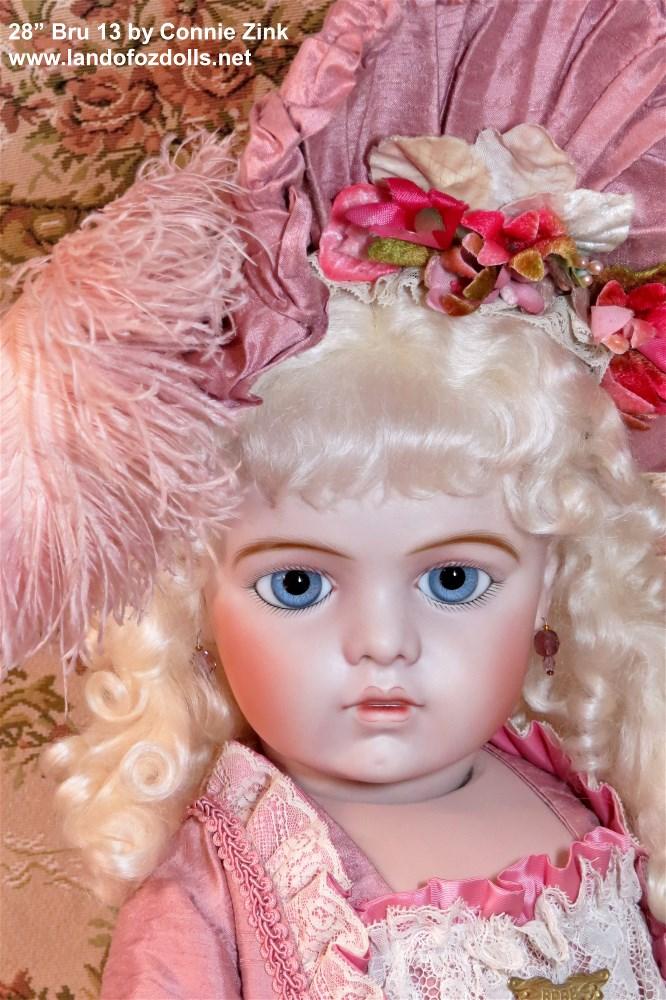 Bru 13 with Dark Blonde Wig