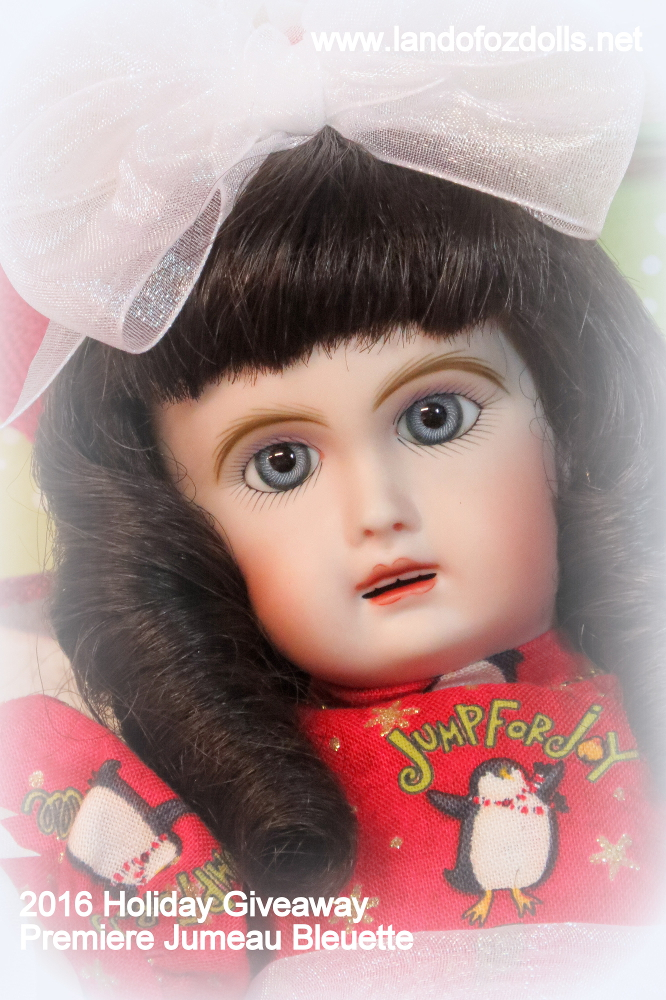 2016 Holiday Giveaway Bleuette Doll by Connie Zink