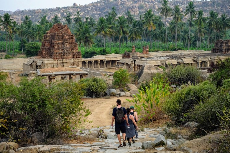 Achyutaraya Temple, Hampi, South India