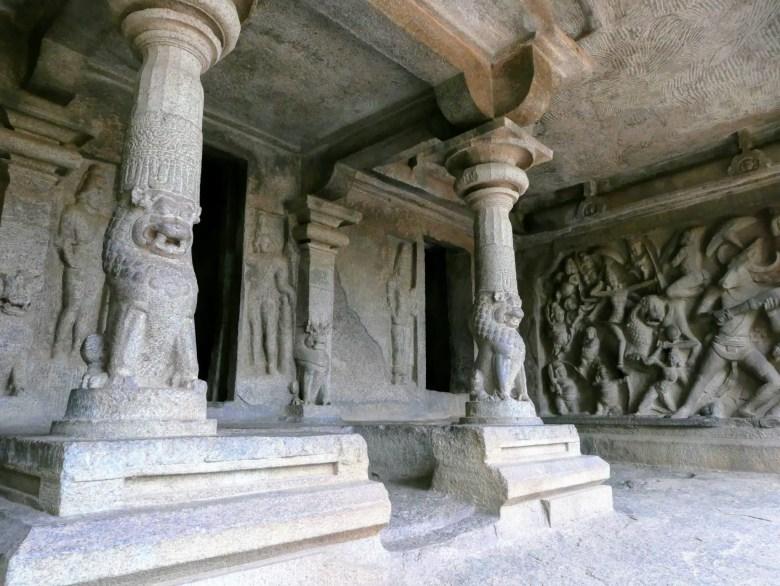 Varaha cave temple, Mahabalipuram, South India.