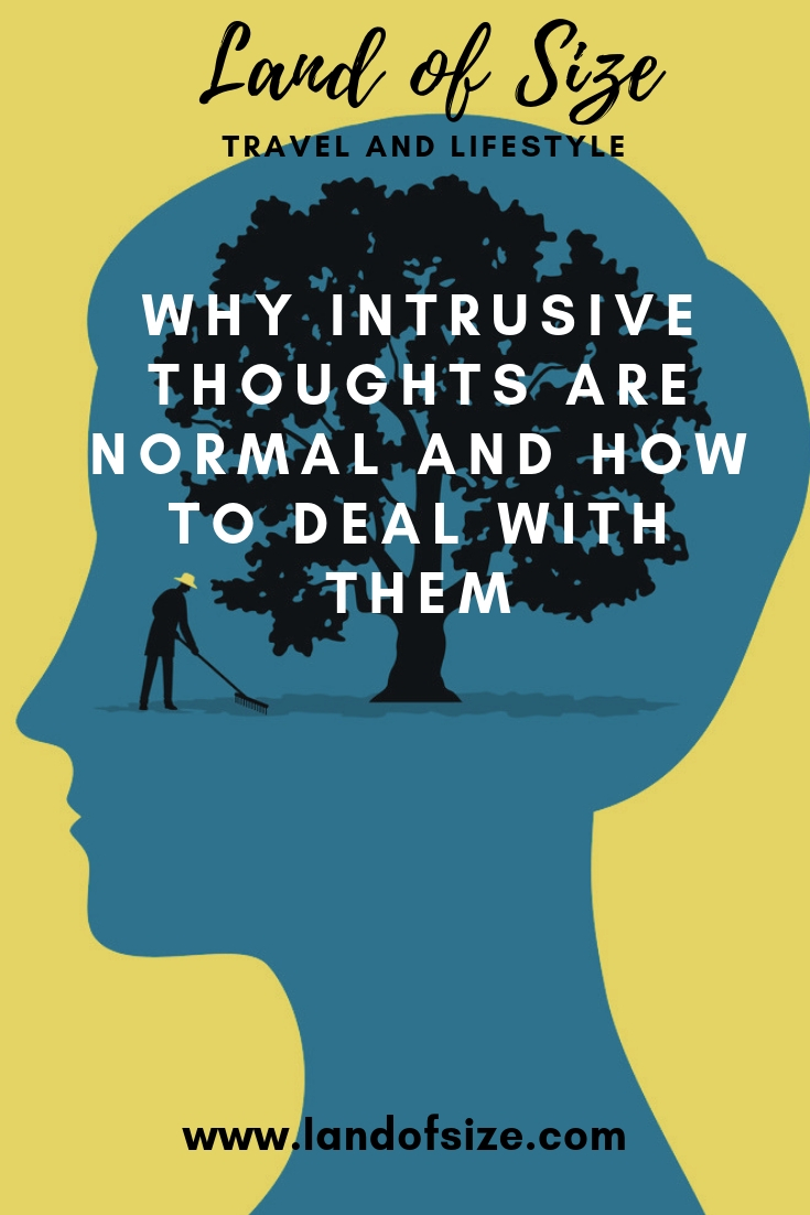 Intrusive thoughts are frightening but inherently normal and human