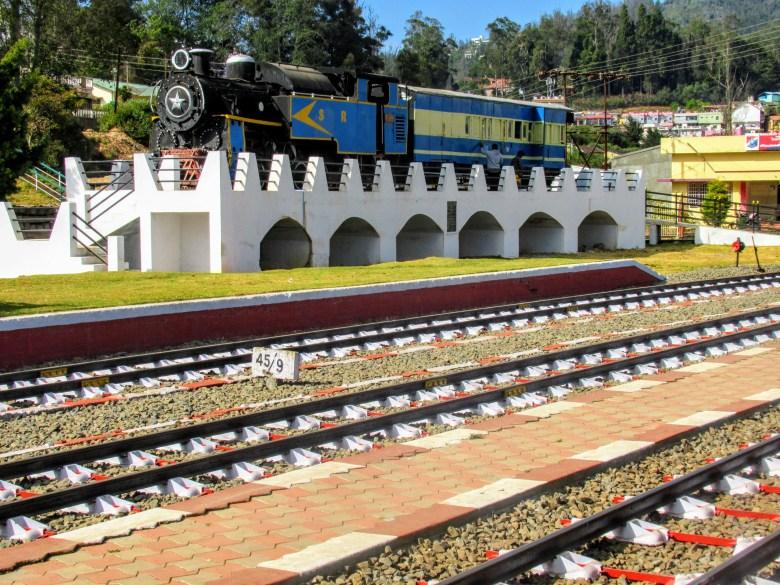 Ooty train station, Tamil Nadu, South India