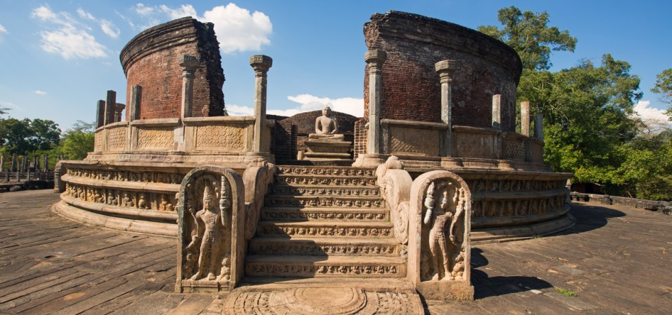 Vatadage, Polonnaruwa, Sri Lanka