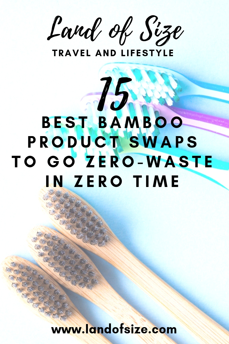 15 best bamboo product swaps to go zero-waste in zero time