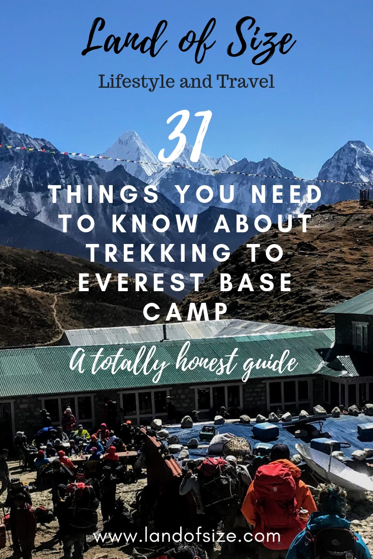 31 things you need to know about trekking to Everest Base Camp in Nepal
