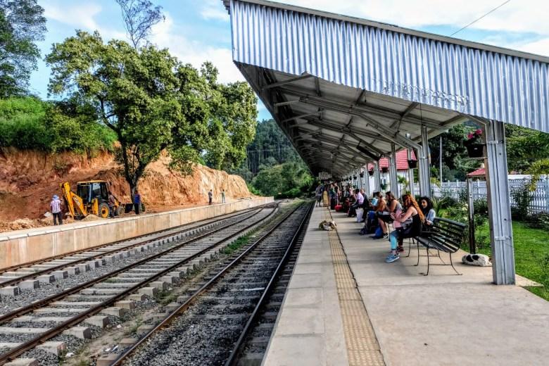 Ella train station, Ella, Sri Lanka