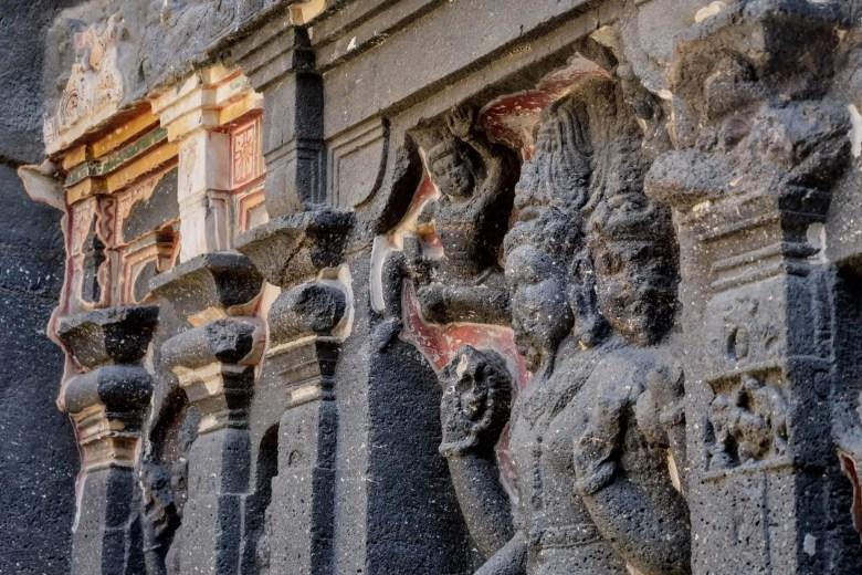 The Kailasa Temple, The Ellora Caves, Maharastra, South India