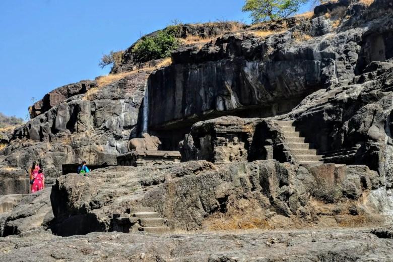 The Ellora Caves, Maharastra, South India