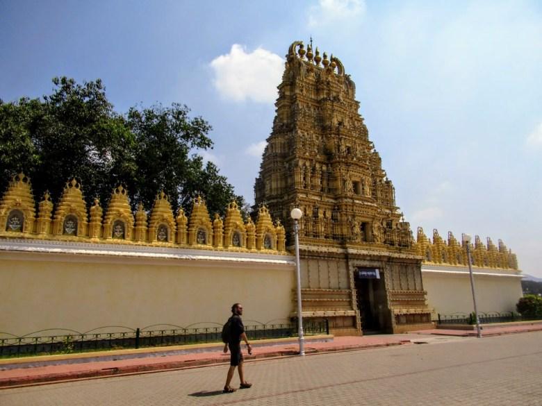 Chamundeshwari Temple, Chamundi Hill, Mysore/Mysuru, South India