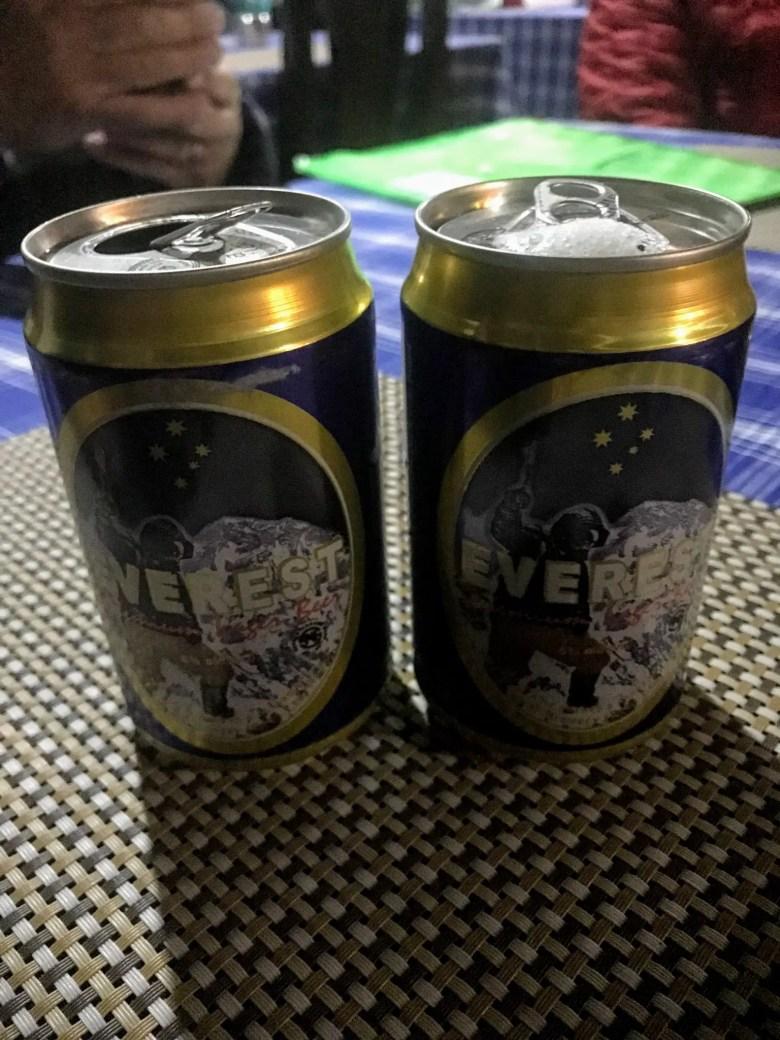 Everest Beer, Lukla, Nepal