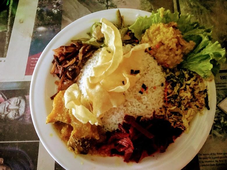 Sri Lankan vegetable curry, Ella, Sri Lanka