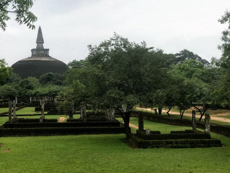 Rankot Vihara, Polonnaruwa, Sri Lanka