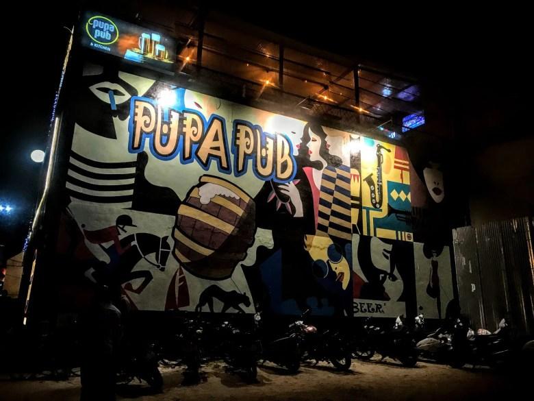 Pupa Pub, Mysore/Mysuru, South India