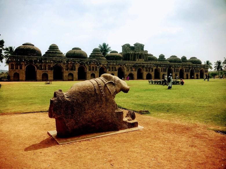 Elephant stable, Hampi, South India