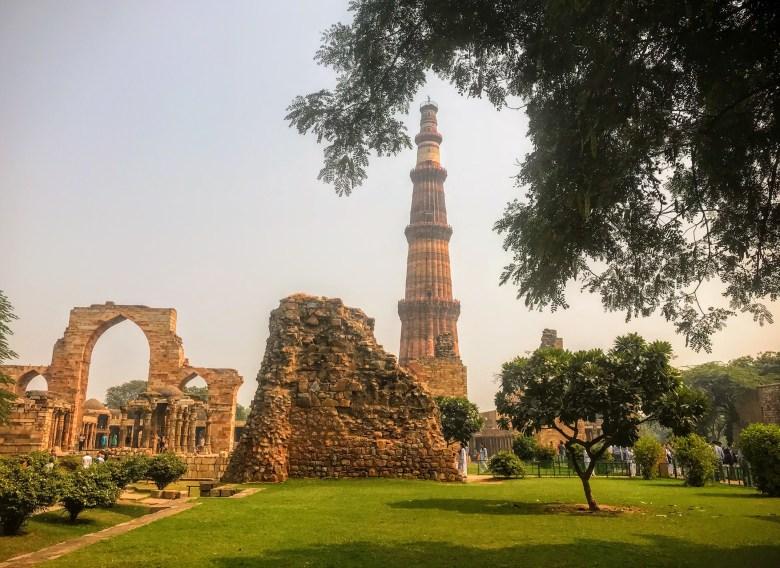 Qutub Minar, Delhi, North India