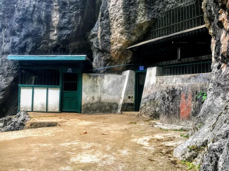 Entrance at Vieng Xai caves, Vieng Xai, Laos