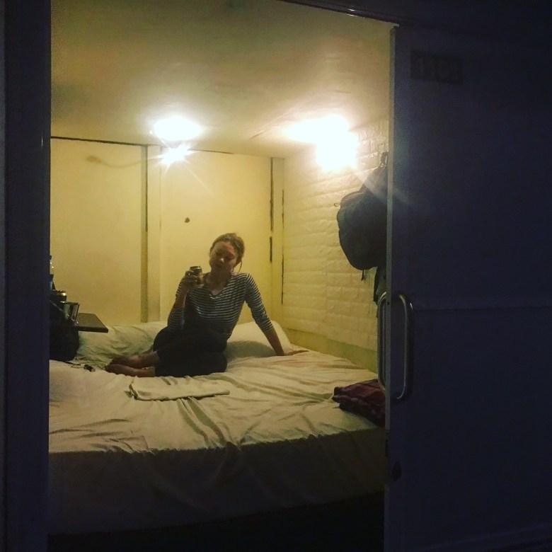 Compact room, Yangon, Myanmar