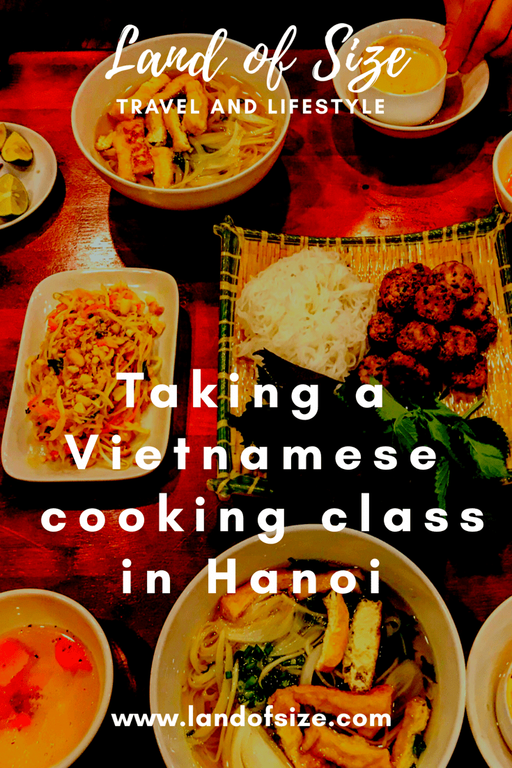Taking a Vietnamese vegetarian cooking class in Hanoi, Vietnam
