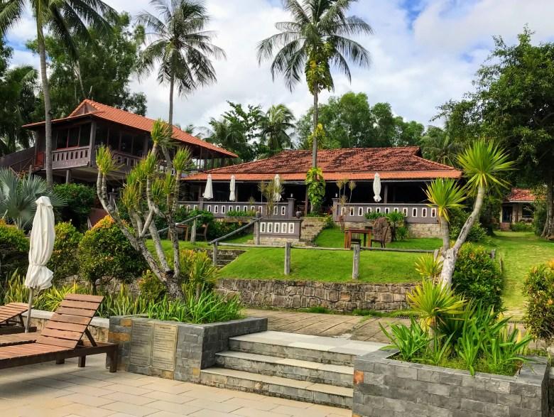 An eco resort on Phu Quoc Island, Vietnam