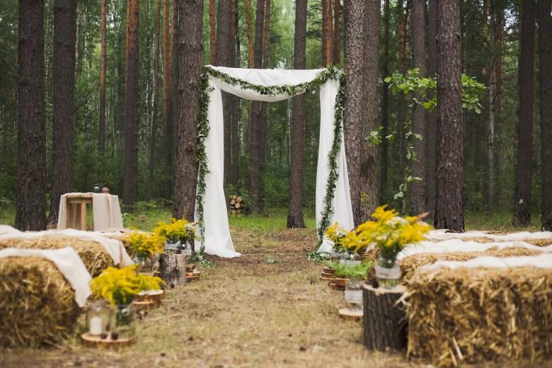 Woodland wedding, iStock