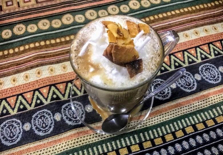 Coconut coffee, Huế, Vietnam