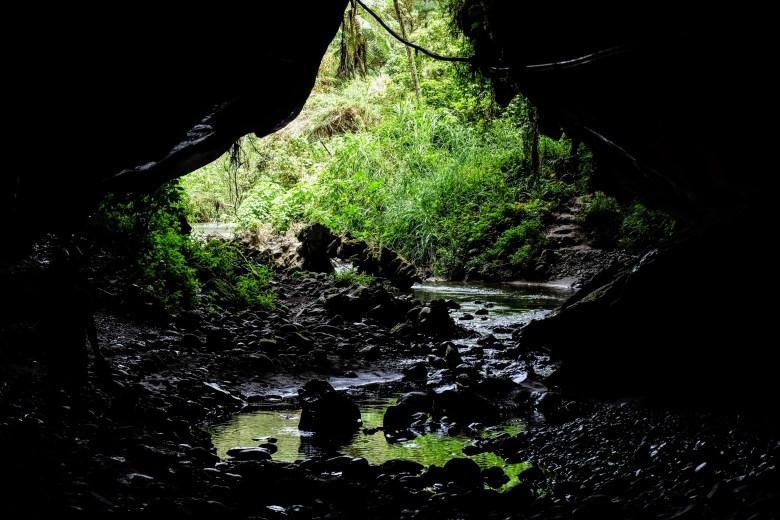 River cave, Sagada, Philippines