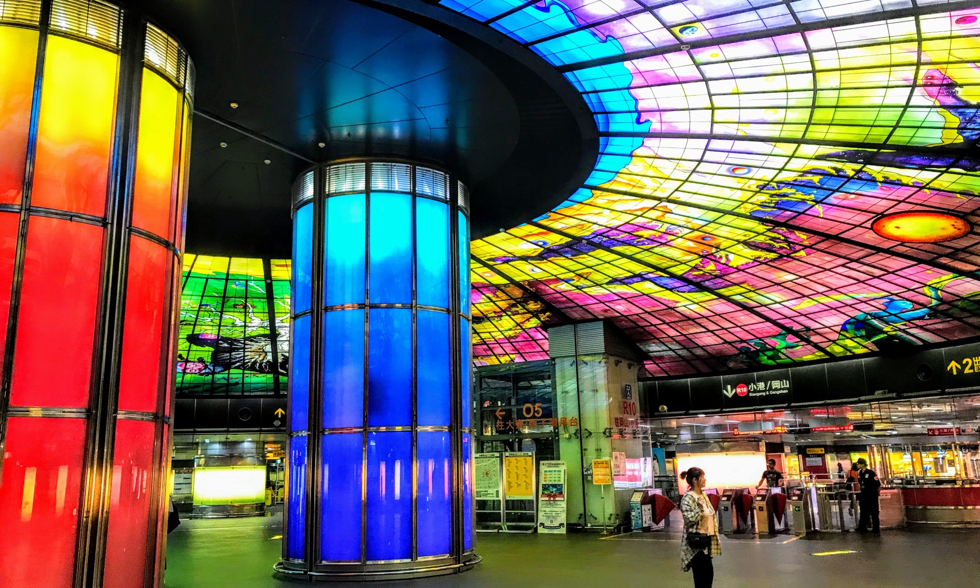 Formosa Boulevard metro station, Kaohsiung, Taiwan