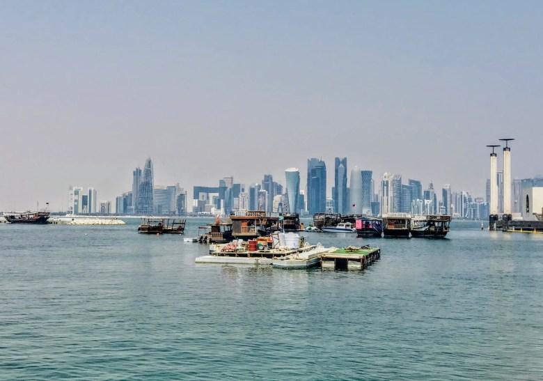 Doha Corniche Viewpoint, Qatar
