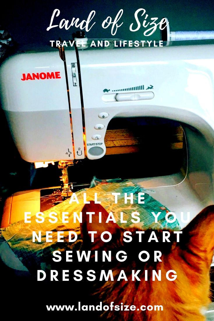 All the essentials you need to start sewing or dressmaking